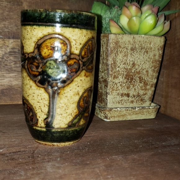 "Other - ""5/$25"" Hand Crafted Pottery Shot Glass"